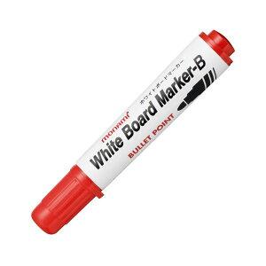 (まとめ) モナミ ホワイトボードマーカーB 丸芯 赤 10503 1本 【×100セット】