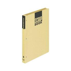 (まとめ) コクヨ スクラップブックD(とじこみ式) B5 中紙28枚 背幅25mm クラフト ラ-41N 1冊 【×30セット】