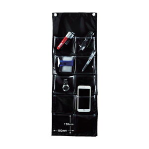 (まとめ) TRUSCO シートポケット中サイズ10ポケット SPM-M10 1枚 【×2セット】
