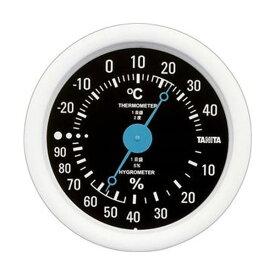 【スーパーセールでポイント最大44倍】(まとめ)タニタ アナログ温湿度計 ブラックTT-515-BK 1個【×10セット】