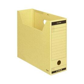(まとめ) コクヨ ファイルボックス-FS(Aタイプ) A4ヨコ 背幅102mm クラフト フタ付 A4-LFBN 1セット(5冊) 【×10セット】