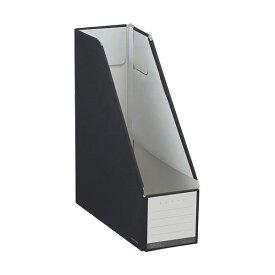 (まとめ) コクヨ ファイルボックス(NEOS)スタンドタイプ A4タテ 背幅102mm ブラック フ-NEL450D 1セット(10冊) 【×10セット】
