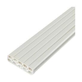 (まとめ)ELPA テープ付ABSモール 1号1m ミルキー M-T1110P(M)1パック(10本)【×2セット】