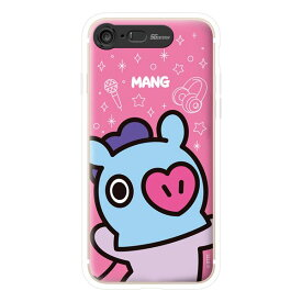 SG Design iPhone 8/7 BT21 GRAPHIC LIGHT UP CASE FACE MANG