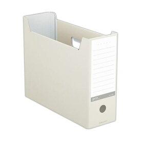 (まとめ) コクヨ ファイルボックス(NEOS)A4ヨコ 背幅102mm オフホワイト A4-NELF-W 1冊 【×30セット】