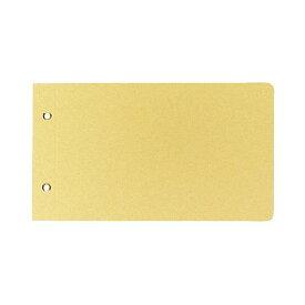 (まとめ)コクヨ 綴込表紙C クラフトタイプ振替伝票サイズ 2穴 ツ-76 1セット(20組40枚:1組2枚×20パック) 【×5セット】