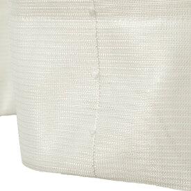 刺繍 レースカーテン ライン柄 幅150×丈223cm 1枚入 ホワイト ピコン 九装