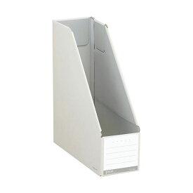 (まとめ)コクヨ ファイルボックス(NEOS)スタンドタイプ A4タテ 背幅102mm オフホワイト フ-NEL450W 1冊 【×20セット】