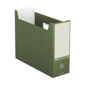 (まとめ)コクヨ ファイルボックス(NEOS)A4ヨコ 背幅102mm オリーブグリーン A4-NELF-DG 1冊 【×20セット】