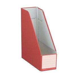 (まとめ)コクヨ ファイルボックス(NEOS)スタンドタイプ A4タテ 背幅102mm カーマインレッド フ-NEL450R 1冊 【×20セット】