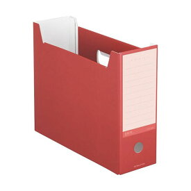 (まとめ)コクヨ ファイルボックス(NEOS)A4ヨコ 背幅102mm カーマインレッド A4-NELF-R 1冊 【×20セット】
