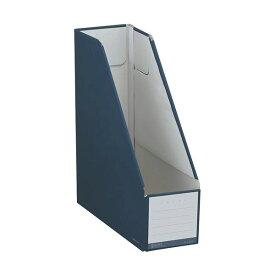 (まとめ)コクヨ ファイルボックス(NEOS)スタンドタイプ A4タテ 背幅102mm ネイビー フ-NEL450DB 1冊 【×20セット】