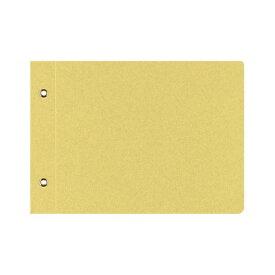 (まとめ) コクヨ 綴込表紙C クラフトタイプB6ヨコ 2穴 ツ-50 1セット(20組40枚:1組2枚×20パック) 【×10セット】