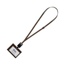 (まとめ)コクヨ ネームカードホルダー(IDeoHUBSTYLE)名刺・IDカード用 ヨコ型 濃茶 NM-RK195DS 1個【×3セット】