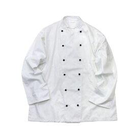 イギリス軍放出コックジャケットホワイト未使用デットストック XL