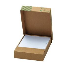 (まとめ)TANOSEEマルチプリンタ帳票(FSC森林認証紙) A4白紙 4面8穴 1セット(1000枚:500枚×2箱)【×3セット】