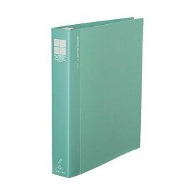 コクヨ ロックリングファイル(シングルレバー)A4タテ 4穴 300枚収容 背幅47mm 緑 フ-TLF444g 1セット(10冊)