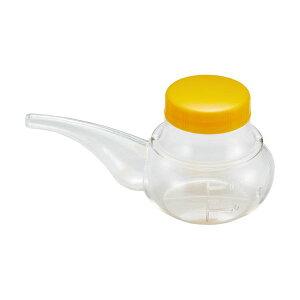 (まとめ)オオサキメディカル プラスハート寝たまま飲みやすい 薬のみ オレンジ 1個【×10セット】