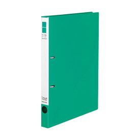 (まとめ) コクヨ リングファイル(スリムスタイル)A4タテ 2穴 180枚収容 背幅27mm 緑 フ-URF420G 1冊 【×30セット】