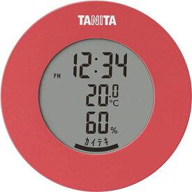 【スーパーセールでポイント最大44倍】タニタ デジタル 温湿度計 ピンク TT-585