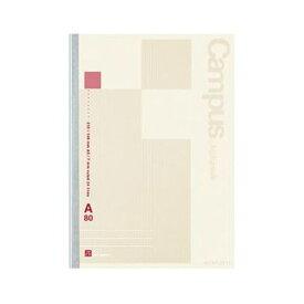 (まとめ)コクヨ キャンパスノート(MIOPAPER)A5 A罫 24行 80枚 ノ-Gg 108A 1セット(5冊)【×10セット】
