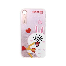 LINE FRIENDS iPhone XR LIGHT UP CASE CUPID LOVE コニーキューピッド
