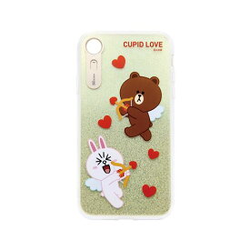 LINE FRIENDS iPhone XR LIGHT UP CASE CUPID LOVE スウィートハート3