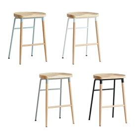【クーポン配布中】ハイスツール ホワイト バースツール 北欧 カウンタースツール スツール 天然木 カウンターチェア チェア ウッドチェア 椅子 いす おしゃれ ハイチェア NovodiA Bar Stool esc-3307