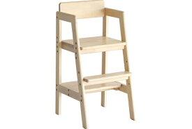 ベビーチェア ナチュラル ハイチェア 木製 高さ調節 ダイニングチェア ベビーチェアー 子供 2歳 食事 椅子 赤ちゃん 椅子 テーブルベビーチェア キッズチェア Kids High Chair -stair- ilc-3340