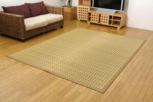 純国産/日本製掛川織い草カーペット『スウィート』江戸間8畳(約348×352cm)