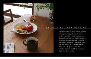 ダイニングセット4点セットB(テーブル+チェア×2+背付ベンチ)【LEWIS】ライトブラウン天然木北欧ヴィンテージスタイルダイニング【LEWIS】ルイス【代引不可】