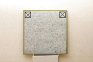 ユニット畳『フレア』82×82×2.3cm9枚(ナチュラル5枚ブラック4枚)1セット(中材:低反発ウレタン+フェルト)