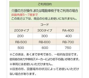 ミスギ段差スロープ】アルミスロープRA-300【出幅905mm(有効出幅835mm)X奥行1250mm高さ50〜300mm重さ13.4kg耐荷重300kg】【代引不可】