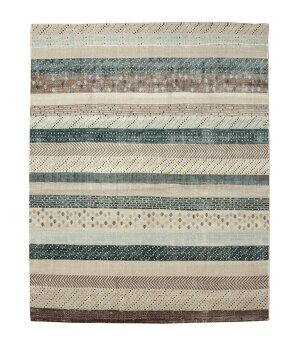 トルコ製ウィルトン織りカーペット『ロジュRUG』ブルー約160×235cm