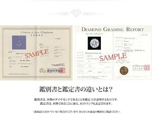 K18WG0.1ctダイヤモンドペンダント/ネックレススクリューチェーン(鑑定書付き)