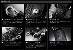 ギャルソンD.A.Dラグジュアリースマートフォンケースモノグラムレザーブラック/ホワイト【RCP】