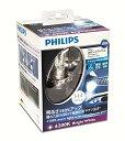 【あす楽】【送料無料】PHILIPS X-treme Ultinon LED H4 6200K 12953BWX2 LEDヘッドランプ 3年保証 車検対応 フィ...