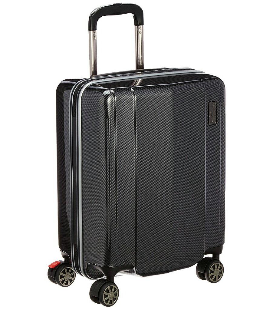 【あす楽】【送料無料】TRD ポリカーボネートキャリーケース 縦型 0836800-BK ブラックカーボン柄 4輪式 38L 3.2kg 国際線機内持込可能 TSAロック機能搭載 [キャリーカート][キャリーバッグ][スーツケース][トヨタ レーシング デベロップメント]