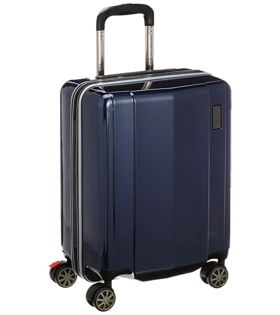 【あす楽】【送料無料】TRD ポリカーボネートキャリーケース 縦型 0836800-NV ネイビーカーボン柄 4輪式 38L 3.2kg 国際線機内持込可能 TSAロック機能搭載 [キャリーカート][キャリーバッグ][スーツケース][トヨタ レーシングデベロップメント]