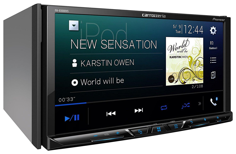 【あす楽】【送料無料】carrozzeria 2DINメインユニット FH-9300DVS AppleCarPlay AndroidAuto対応 CD/DVD/USB/Bluetooth Pioneer パイオニア カロッツェリア カーオーディオ