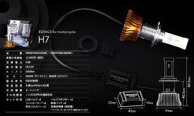 【送料無料】スフィアLED ライジング2 バイク用 SRBH7045 H7 1灯 4500K サンライト 2400lm DC12V専用 日本製 3年保証 SPHERELIGHT スフィアライト RIZING2 LEDヘッドライト 二輪車用 オートバイ モーターサイクル