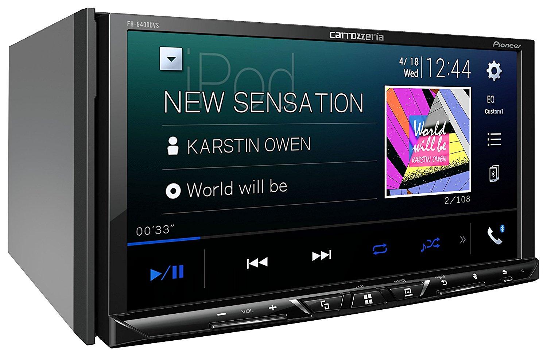 【あす楽】【送料無料】carrozzeria 2DINメインユニット FH-9400DVS AppleCarPlay AndroidAuto対応 CD/DVD/USB/Bluetooth Pioneer パイオニア カロッツェリア カーオーディオ