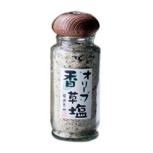 オリーブ香草塩 瓶50g 【 ハーブソルト 岩塩 オリーブ香草塩 天ぷら塩 おむすび塩 セット オリーブ 葉 お得 】