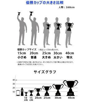 優勝カップ樹脂製【YNO-02772Bサイズ】高さ:23.2cm口径:8.5cmBBS-4