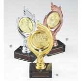 トロフィー樹脂製金銀銅130種類の選べるメダル付【YBRZ-02605】高さ:20cm幅:8.5cm#B25