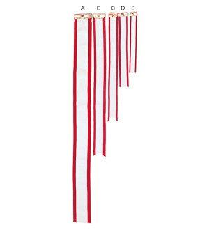 ペナント【YHR-01792Aサイズ】長さ:90cm幅:7.5cm
