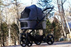 【送料無料】北欧デザイン・ヨーロッパ製ドッグカート【ファーストバギー・XC】 犬用カート ペットカート