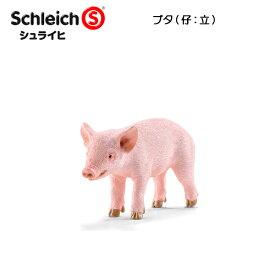 【10%OFFクーポン配布中】ブタ(仔:立) 13783 動物フィギュア ファームワールド シュライヒ