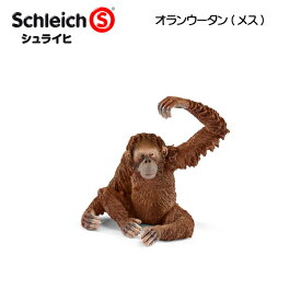 【10%OFFクーポン配布中】オランウータン(メス) 14775 動物フィギュア ワイルドライフ シュライヒ