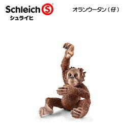 【10%OFFクーポン配布中】オランウータン(仔) 14776 動物フィギュア ワイルドライフ シュライヒ
